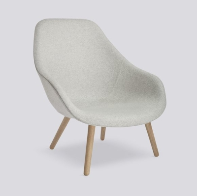 About A Lounge Chair AAL92 - Divina Melange 120