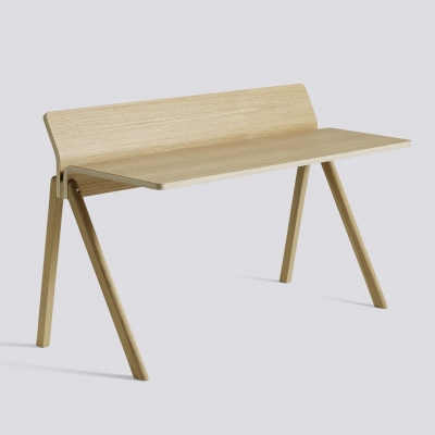 Copenhague Desk CPH190 - Clear Lacquered Oak