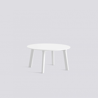 Copenhague Deux 250 Table - 75cm dia - Coloured Base