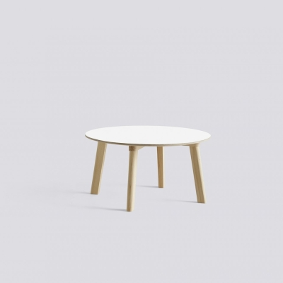 Copenhague Deux 250 Table - 75cm dia - Beech Base