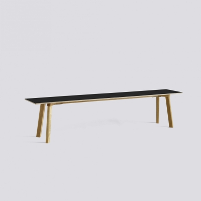 Copenhague Deux Bench CPH215 - 200x35 - Matt Lacquered Base