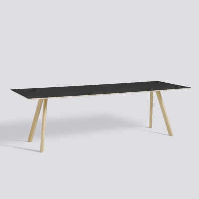 Copenhague Table CPH30 - 250x90 - Lacquered Base - Coloured Tabletop