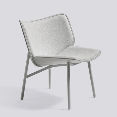 Dapper Chair - Dusty Grey Base - Divina Melange 120