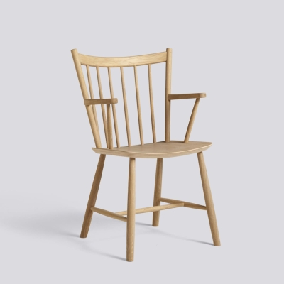 J42 Chair - Matt Lacquered Solid Oak