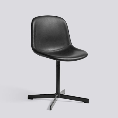 Neu 10 Chair Upholstery - Silk Black Leather