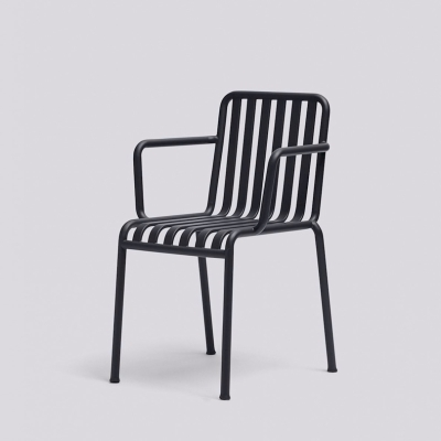 Palissade Armchair - Anthracite/Olive/Sky Grey