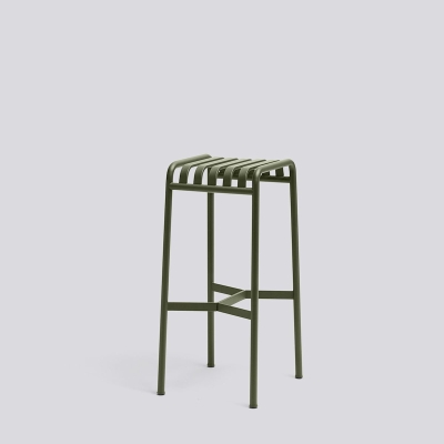 Palissade Bar Stool - Anthracite/Olive/Sky Grey