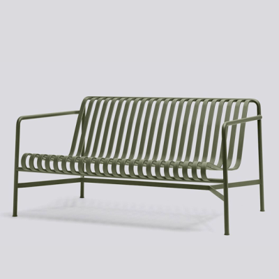 Palissade Lounge Sofa - Anthracite/Olive/Sky Grey
