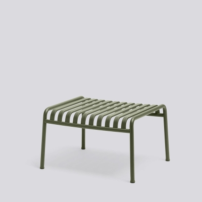 Palissade Ottoman - Anthracite/Olive/Sky Grey