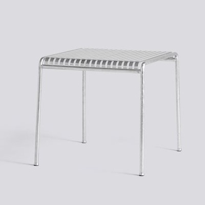 Palissade Table - Hot Galvanised - Small
