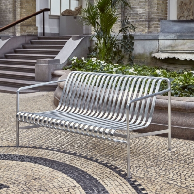 Palissade Lounge Sofa - Hot Galvanised