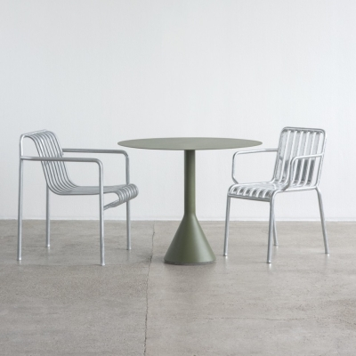 Palissade Armchair - Hot Galvanised
