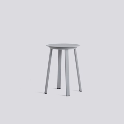 Revolver Stool - Black/Grey/Red