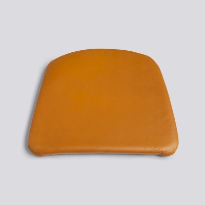 J42 Chair Seat Cushion - Black/Cognac Leather