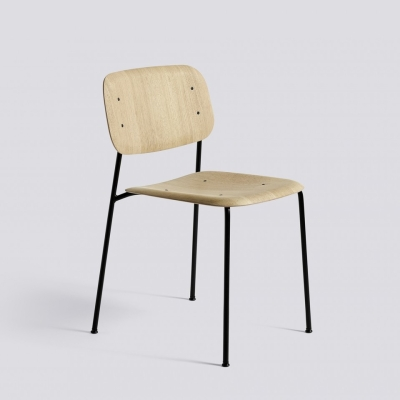 Soft Edge Chair 10 - Matt Lacquered - Black Steel Base (Fast Track)