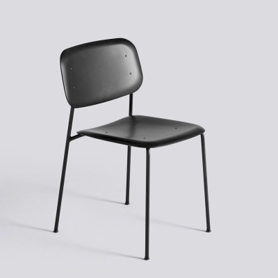 Soft Edge Chair P10 - Black Base (More Colours Available)