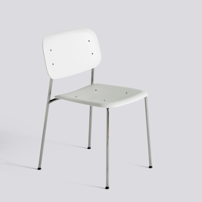 Soft Edge Chair P10 - Chromed Base (More Colours Available)