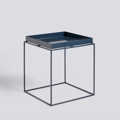 Tray Table - 40x40 - Deep Blue High Gloss