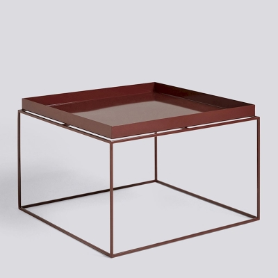 Tray Table - 60x60 - Chocolate High Gloss