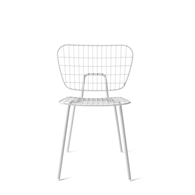 WM String Dining Chair - White