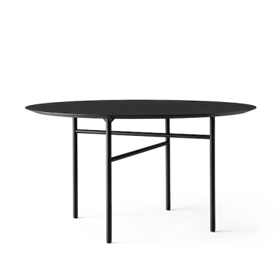 Round Snaregade Table - 138cm dia - Linoleum Tabletop