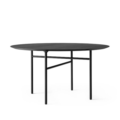 Round Snaregade Table - 138cm dia - Veneer Tabletop