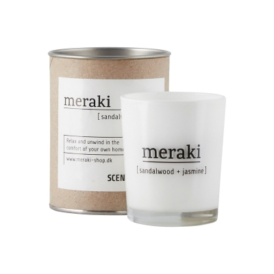 Scented Candle - Sandalwood & Jasmine - Small
