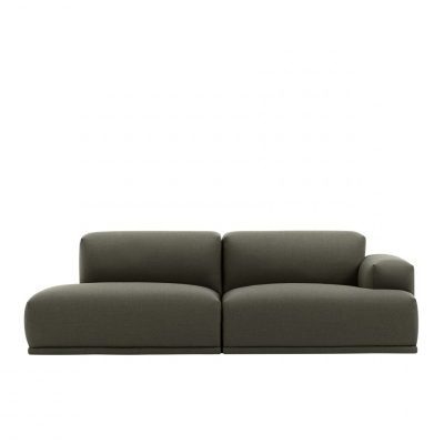 Connect Sofa 2-Seater Open End - Fiord 961 (More Colours Available)