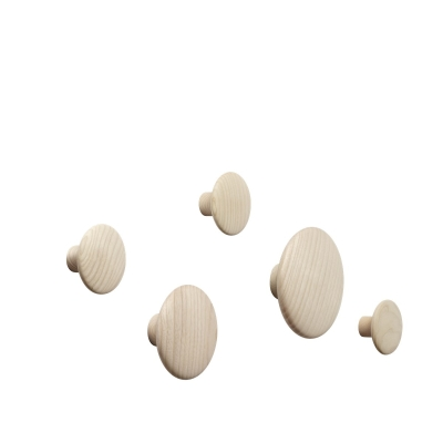 Dots - Oak (set of 5)