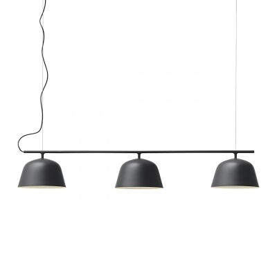 Ambit Rail Lamp - BlackWhite/Grey