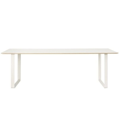 70/70 Table - 225cmx90cm - Black/White/Grey