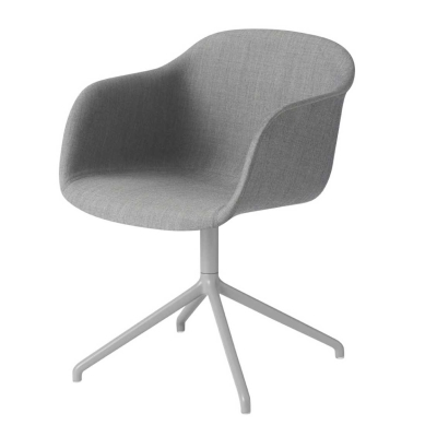 Fiber Armchair - Swivel Base - Textile Shell