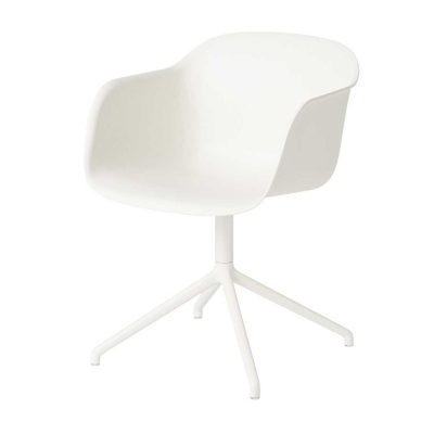 Fiber Armchair - Swivel Base - Normall Shell