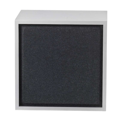 Stacked - Medium - Acoustic Panel - Black/Grey/Aqua