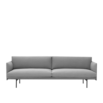 Outline 3-Seater - Steelcut Trio 133 (More Colours Available)