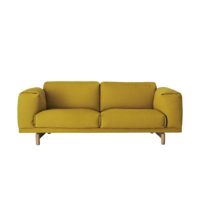 Rest Sofa 2-Seater - Hallingdal 457 (More Colours Available)