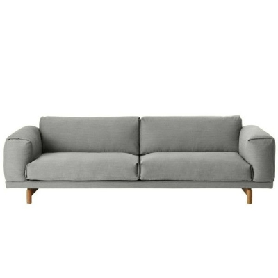 Rest Sofa 3-Seater - Hallingdal 123 (More Colours Available)