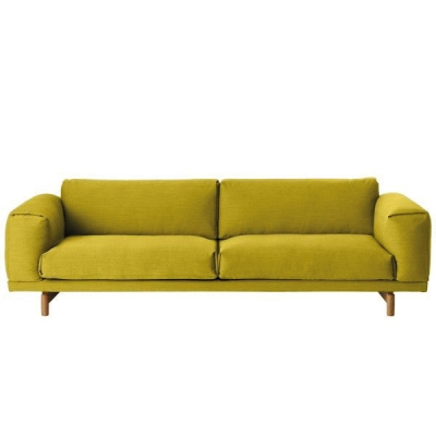 Rest Sofa 3-Seater - Hallingdal 457 (More Colours Available)