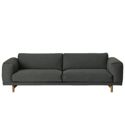 Rest Sofa 3-Seater - Remix 163 (More Colours Available)