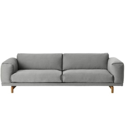 Rest Sofa 3-Seater - Vancouver 14 (More Colours Available)