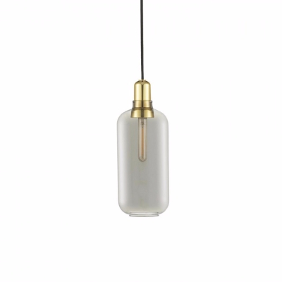 Amp Lamp - Smoke/Brass - Large