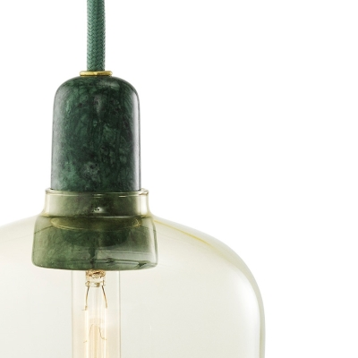 Amp Lamp - Gold/Green - Small