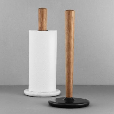 Craft Paper Towel Holder - White