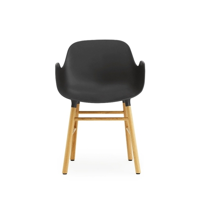 Form Armchair - Oak Base