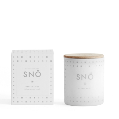 Sno Scented Candle