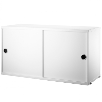 Cabinet Sliding Doors - White