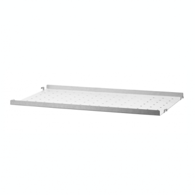 Galvanized Metal Shelf - H2cm x D30cm (Outdoor Use)