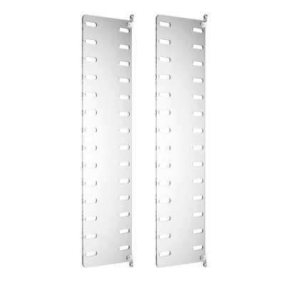 Side Panel Wall (set of 2) - 75cm x 20cm - Perspex