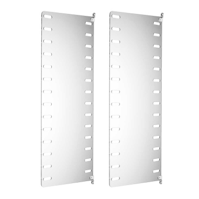 Side Panel Wall (set of 2) - 75cm x 30cm - Perspex