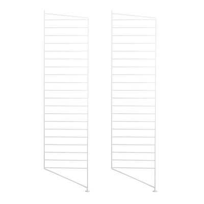 Side Panel Floor (set of 2) - 115cm x 30cm - White